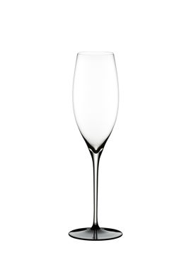Wine Glass Vintage Champagne Black Tie 4100/28