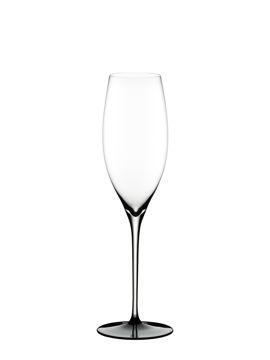 Wine Glass Vintage Champagne Black Tie 4100/28